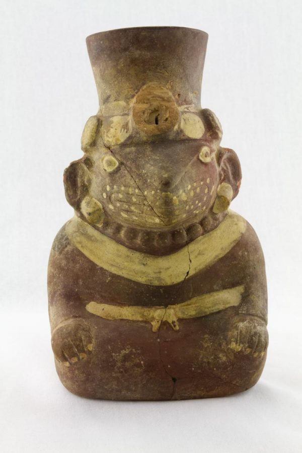 UCLA Fowler Museum Collection: X99.49.1 Moche vessel front view