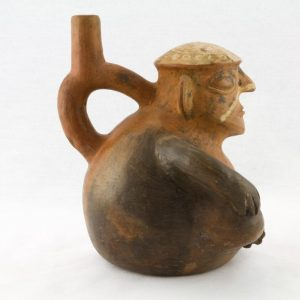 UCLA Fowler Museum Collection: X99.49.2 Moche vessel right view