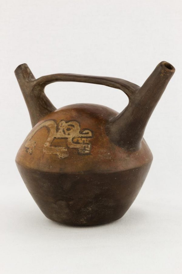 UCLA Fowler Museum Collection: X99.49.3 Nasca vessel angle image