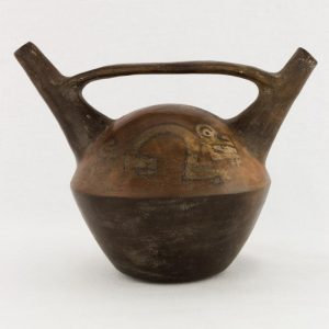 UCLA Fowler Museum Collection: X99.49.3 Nasca vessel back image