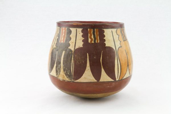 UCLA Fowler Museum Collection: X99.49.4 Nasca vessel back image
